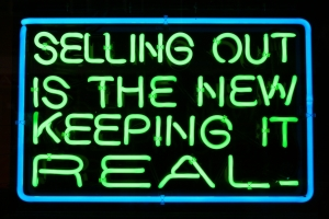 Selling-out-is-the-new-keeping-it-real
